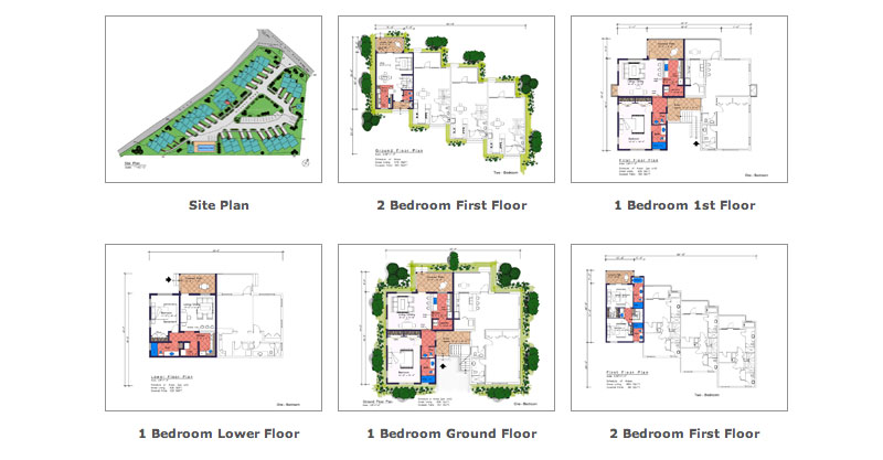 Emerald Greens Site Plans